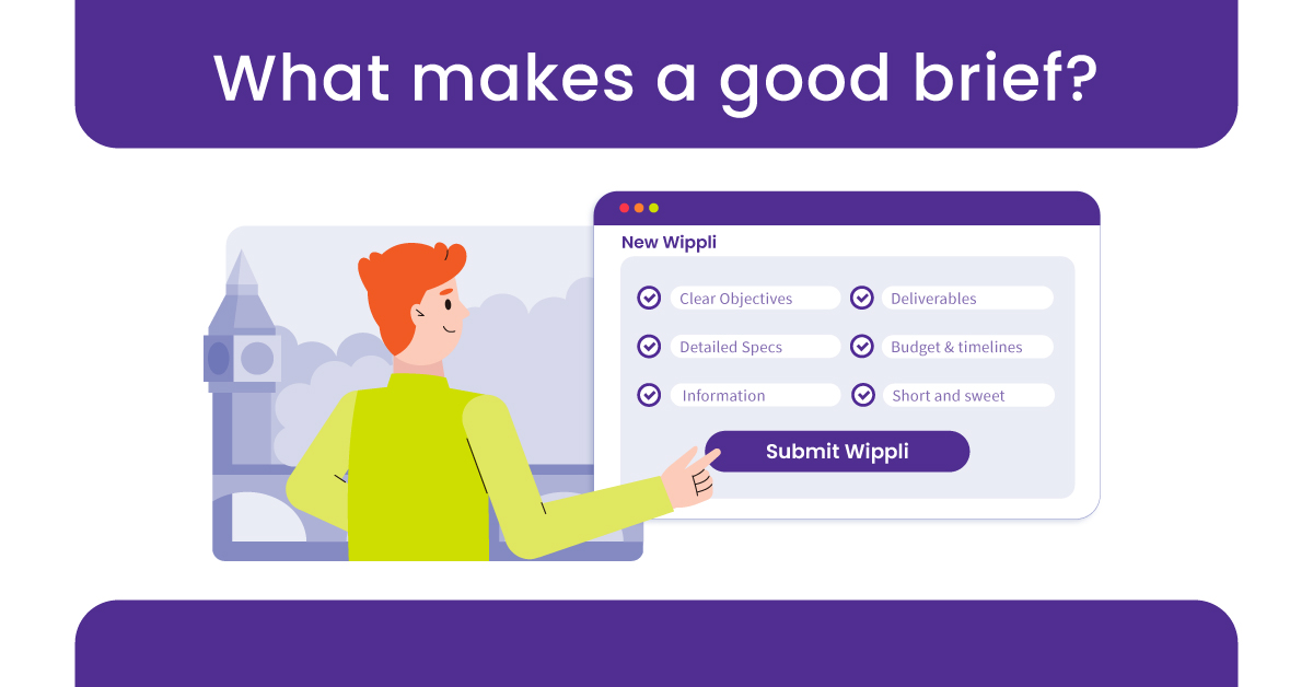 Wippli's Tips to Create a Successful Project Brief